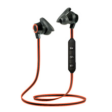 Bilateral Noodle Line Earplug Stereo 4.1 Hanging Ear sports Bluetooth Headset