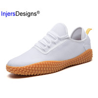 Summer Casual Men Shoes Air Mesh Tenis Masculino Mens Trainers Breathable Non Slip Walking Shoes Men White Red Black Sneakers