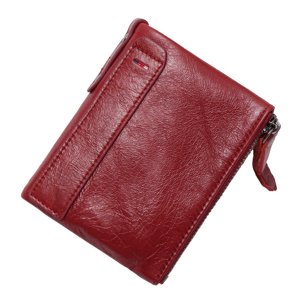 2017 Hot! New Vintage Small Women Wallets Female Genuine Leather Womens Wallet Zipper Design With Coin Purse Pockets Mini Wallet wallet female long zipper womens wallets and purses fashion solid genuine leather female wallet hasp women wallets coin purse