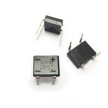 50 шт./лот DB107 DIP4 диодный мост retifica 1A 1000 В однофазных диодный выпрямительный мост electronica componentes