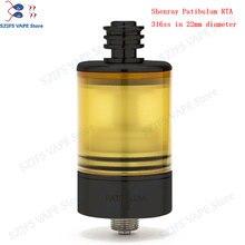 Patibulum RTA MTL Tank  22mm  3.5ml Atomizermouth to lung Vape Tank single coil Disk type AFC system Vape mod Vaporizer vsKAYFU стоимость