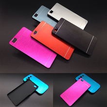 (isn't for Huawei P8 ) Luxury Metal Cases Hood For Huawei P8 Lite Hard Brushed Aluminium + PC material Back phone case cover
