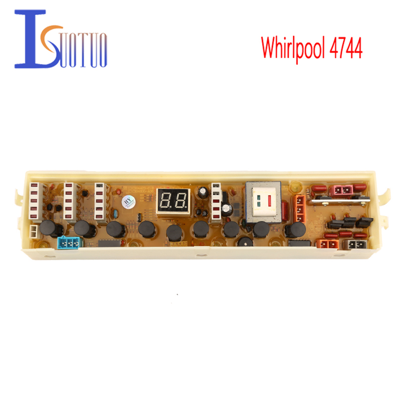 Whirlpool Washing Machine Computer Board 744 Brand New Spot Commodity original whirlpool washing machine motherboard 4805 a06 new spot commodity