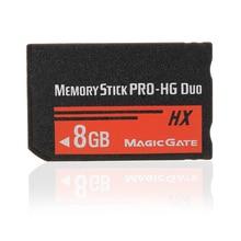 Memoria Stick MS Pro Duo de 4/8/16/32GB, tarjeta Flash para Sony PSP, cámara Cybershot, juego de capacidades completas, tarjetas de memoria
