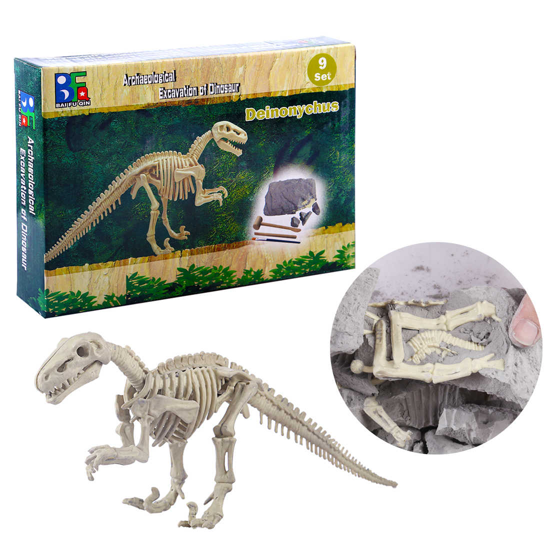 Children Creative Educational Dinosaur Archaeology Excavation Learning Animals & Nature Toys Gift  For Children