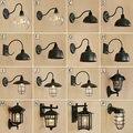 Винтажный Лофт Промышленный регулируемый Бра Настенные светильники для спальни длинный поворотный рычаг гибкий настенный светильник черн...