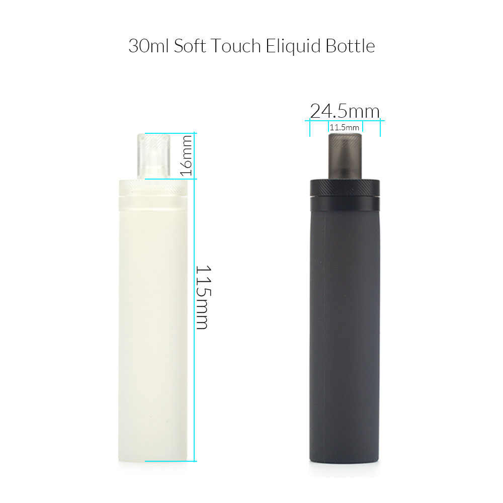 Coil Father 30ml Soft E Liquid Bottle Silicone Empty Dropper Squonk For Electronic Cigarette RDA RTA Vape Atomizer