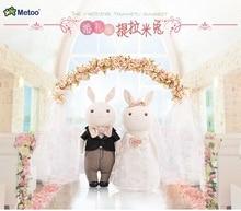 a pair of rabbit toys cute lovely cartoon rabbit dolls wedding gift about 38cm