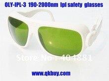 Gafas de seguridad de laser, gafas de seguridad ipl (190-2000nm. OD 4 + CE) de las máquinas ipl