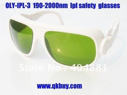 laser safety glasses, ipl safety glasses (190-2000nm. O.D  4+ CE ) for ipl machines