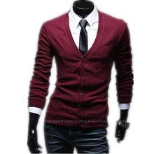 2016 New Autumn Fashion Men Crime Brand Knitting Cardigan Sweater Men Cardigan Sweater Leisure Men v-neck Sweater