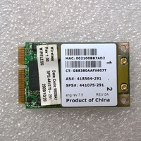 BCM9411MCG 802.11a/b/g Mini PCI Placa De Adaptador Para 2510 p Series  sps 441075-001 441075-002