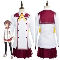Katana Maidens Toji No Miko Kanami Eto Minoseki Academy Uniform Dress Cosplay Costume