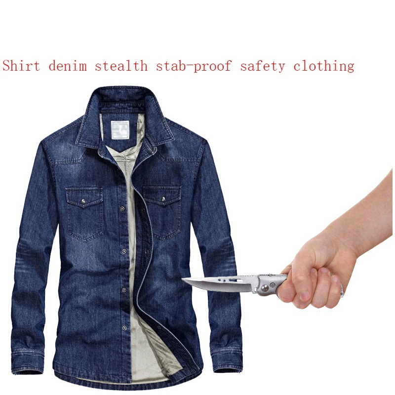 Jackets & Coats Self Defense Tactical Jackets Anti Cut Anti-knife Cut Resistant Men Jacket Anti Stab Proof Cutfree Security Soft Stab Clothing Back To Search Resultsmen's Clothing