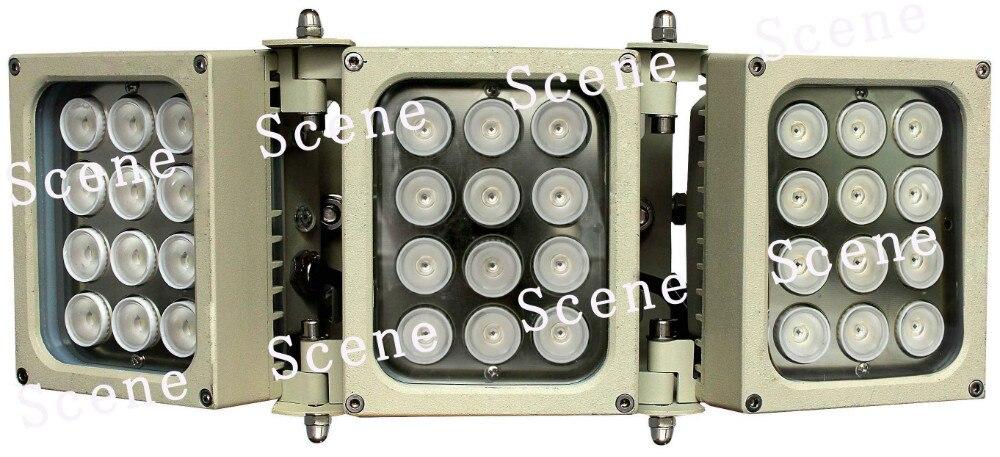 850nm 740nm 940nm 84 w illuminateur IR, Lampe Infrarouge, la lumière infrarouge invisible d'un matériau en Aluminium et nuit sources de lumière de la vision