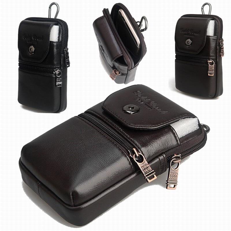 Натуральной кожи ручной зажим для талии кошелек чехол для SENSEIT E400 E500 водонепроницаемый смартфон бесплатная прямая поставка