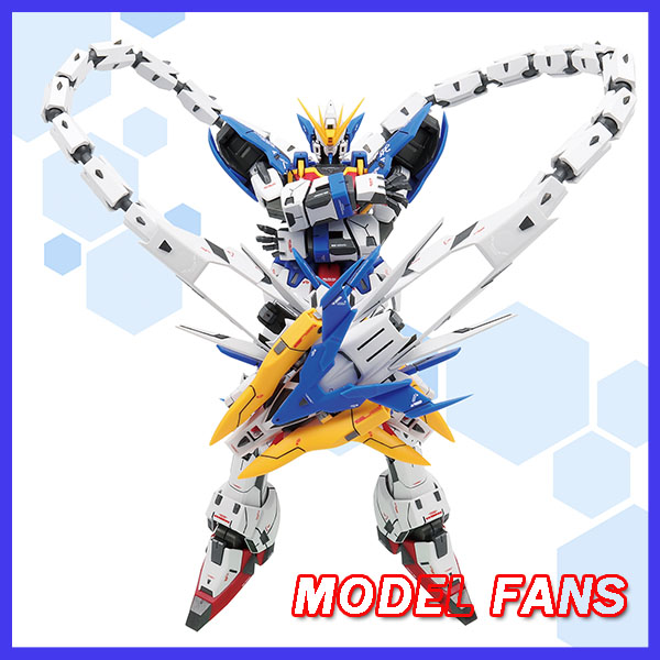 MODEL FANS IN-STOCK super nova gundam W Altron Gundam model kit white blue MG 1/100 action assembly figure цены
