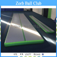 Free Shipping 4x1x0.1m Cheap Inflatable Air Track/Inflatable Airfloor Inflatable Air Track Mat Gymnastics Airfloor