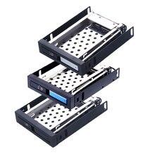 Uneatop алюминиевая панель отдельный отсек SATA случае 2.5 жесткий диск лоток 2.5in HDD/SSD внутренний корпус HDD