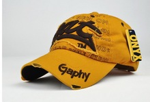 "Embroidered ""Bat"" Baseball Cap"