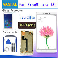AICSRAD 6.44 Screen For XIAOMI Mi Max LCD Display Touch Screen mimax with Frame for Xiaomi Mi Max LCD Display Replacement