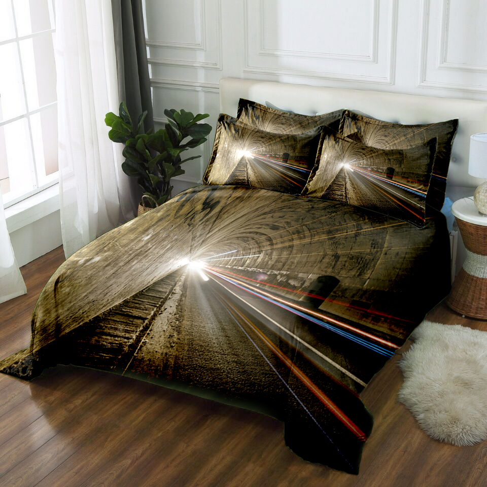 Bedsheets Cotton In King Size 3d Bedding Set Twin Full