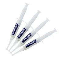 Heißer Verkauf Schnelle Effektive Zahnweiß-gel Spritze Gel 6% Wasserstoffperoxid Zahnaufhellung Gel Set Heimgebrauch 10 ml