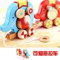 Два слона трактор игрушка весело ролик дизайн детей обучение образование игрушки детские деревянные игрушки