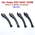 4pcs/Lot Plastic Syma X5SC X5SW Landing Gear for RC Quadcopter Drones White / Black Available Free and Fast Shipping