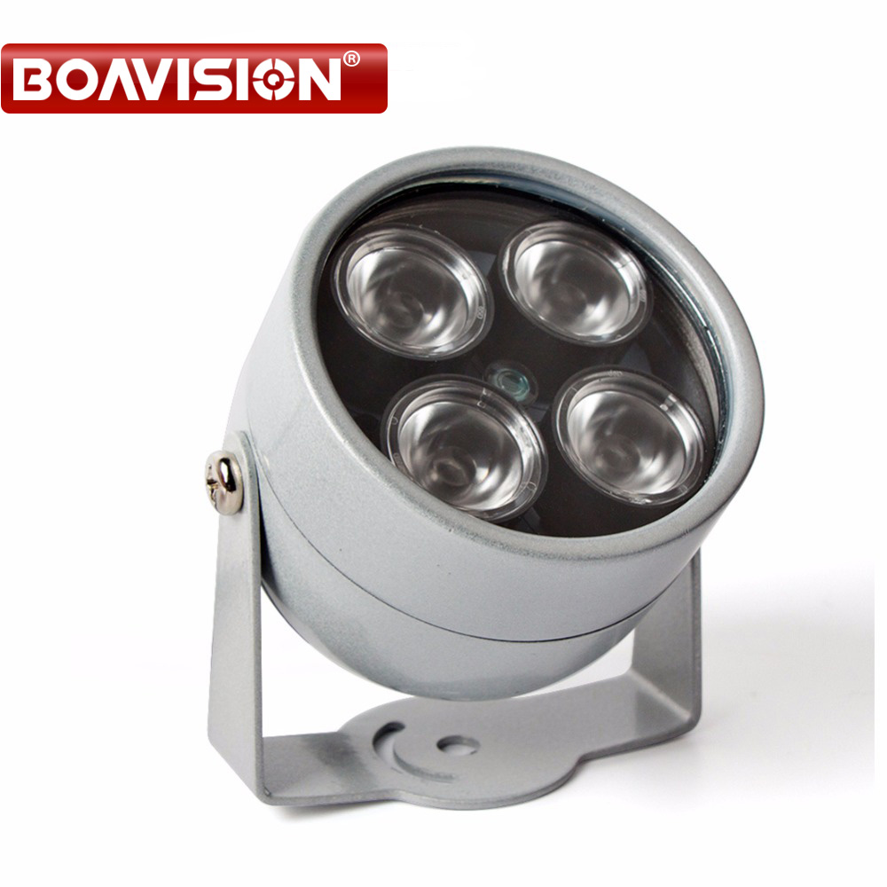 CCTV 4 Array IR led illuminator Light CCTV IR Infrared Outdoor Waterproof Night Vision For CCTV Surveillance Camera IP Camera cctv camera waterproof outdoor housing array led light cctv camera aluminium alloy metal case cover