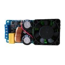 Buy IRS2092S 500W Mono Channel Digital Amplifier Class D HIFI Power Amp Board with FAN