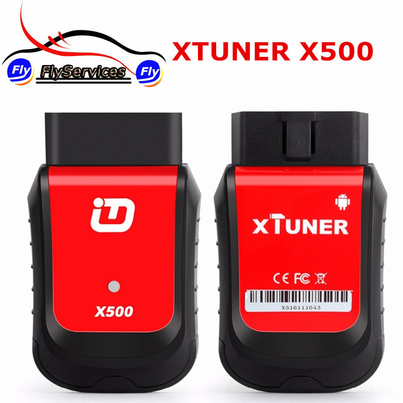 2017 XTuner X500 Android Car Scanner Diagnostic Tool Diagnostic Tool OBDII ABS Battery DPF EPB Oil TPMS IMMO Key Injector Reset hot new xtuner e3 easydiag wireless obdii full diagnostic tool with special function pefect replacement for vpecker easydiag