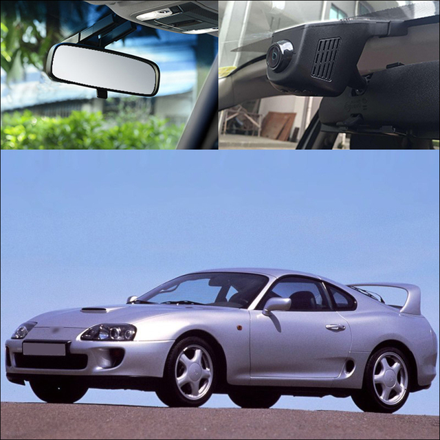 APP Control Car Wifi DVR For toyota Supra Driving Video Recorder Car Black Box parking camera dash cam night vision