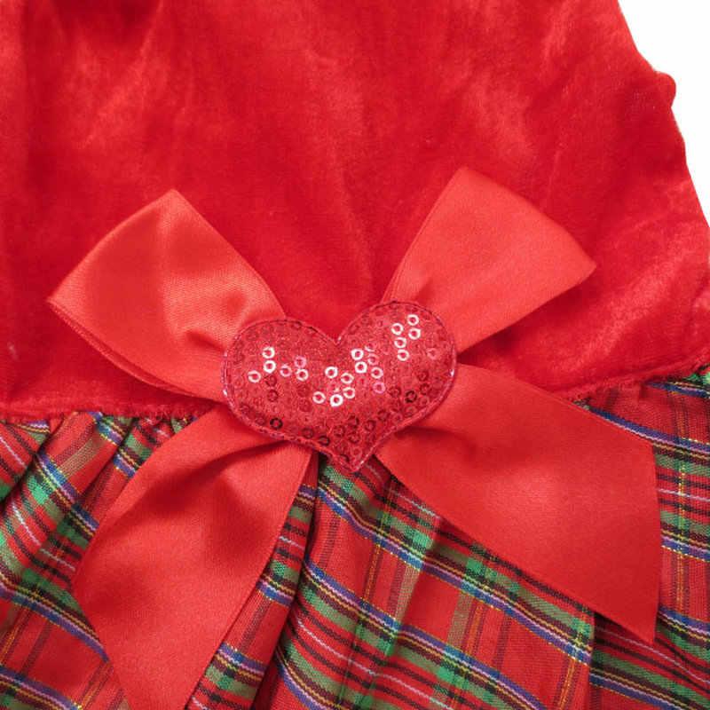 Carino Bowknot Lavorato A Maglia Vestiti Dell'animale Domestico per il Cane Con Cappuccio Abiti Cappotti Giubbotti-Rosso XS Piccolo Medio Grande