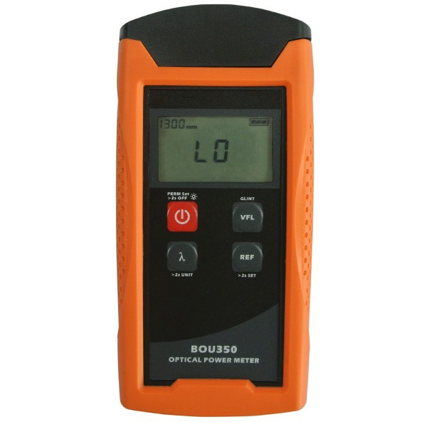 High Precison Digital Handheld Optical Power Meter BOU350T-V10 -70dBm~10dBm with VFL Function 10mW  in FTTx Optic Fiber Tester g t power 130a 150a rc watt meter power analyzer digital lcd tester 12v 24v 36v high precision