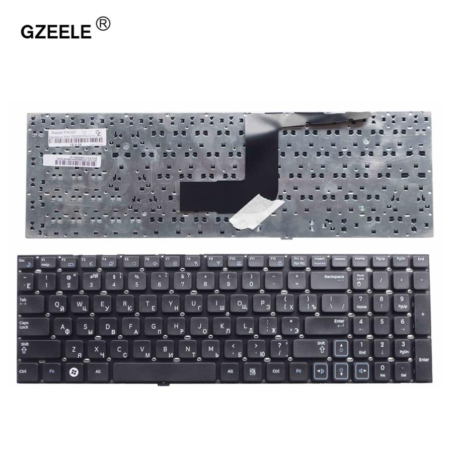 GZEELE russe clavier Pour Samsung RC530 RV509 NP-RV511 RV513 RV515 RV518 RV520 NP-RV520 RC512 RC520 RU Clavier d'ordinateur portable noir