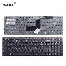 Gzeele teclado russo para samsung rc530 rv509 NP RV511 rv513 rv515 rv518 rv520 NP RV520 rc520 rc512 ru, teclado de laptop preto