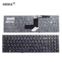 Gzeele teclado russo para samsung rc530 rv509 NP-RV511 rv513 rv515 rv518 rv520 NP-RV520 rc520 rc512 ru, teclado de laptop preto