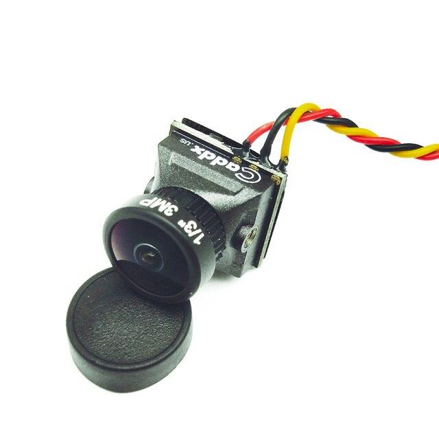 Cámara FPV Caddx Turbo EOS2 1200TVL 2,1mm 1/3 CMOS 16:9 4:3 Mini FPV Cámara Micro Cam NTSC/PAL para Dron RC FPV Dron