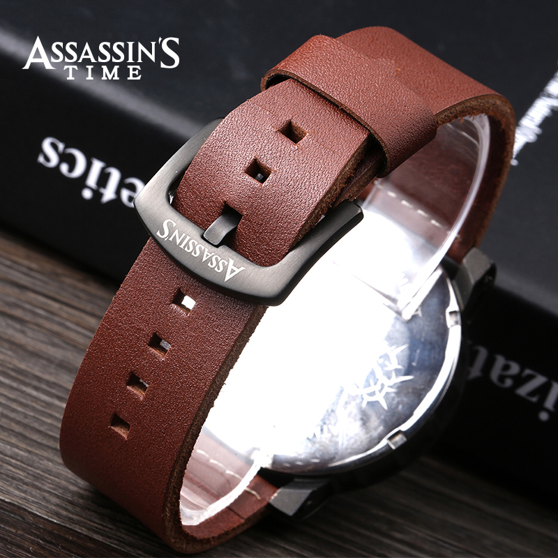 Assassin's Time Fashion Sport Watch Meeste Quartz Watch Luksuslik - Meeste käekellad - Foto 5