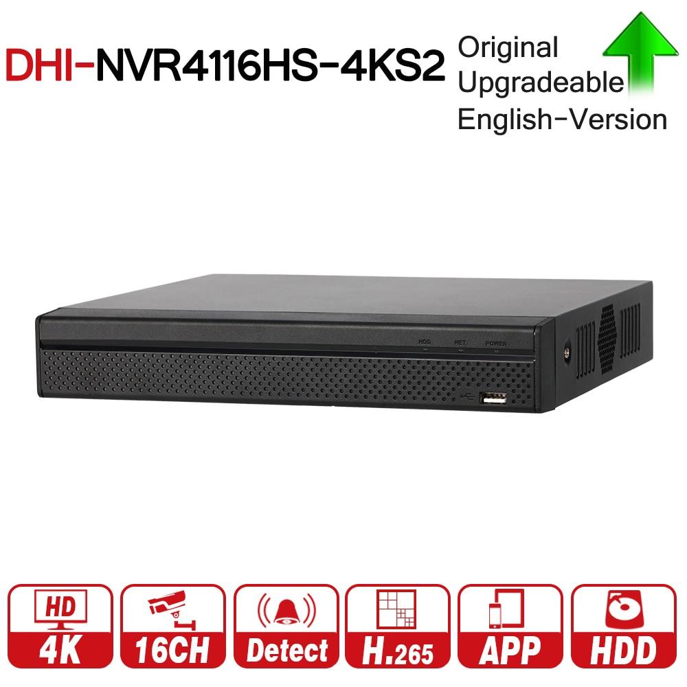 купить DH NVR4116HS-4KS2 NVR 16 Channel Compact 1U 4K&H.265 Lite Network Video Recorder Support ONVIF CGI Metal по цене 7874.79 рублей