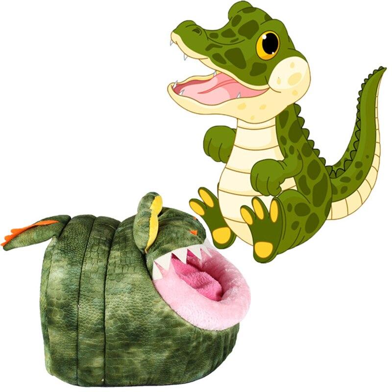Apaulapet Funny Soft Fleece Dinosaur Crocodile Dog Cat Pet