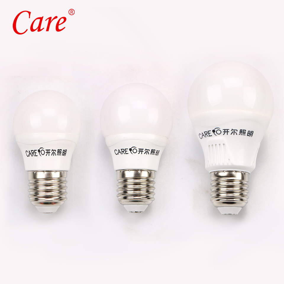 Care Globe LED Light Bulb 3W 5W 7W 9W 10W 11W e14 e27 LED Lighting Light Lamp Bulbs 6500K 4000K 3000K and Three Colors Dimmable