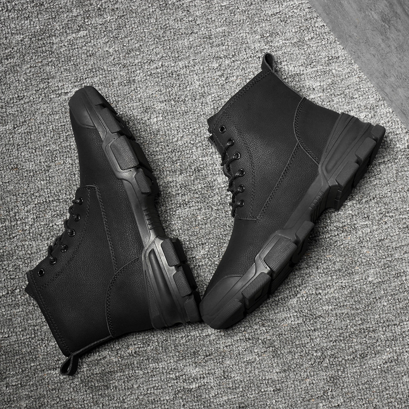 En Chaussures Masculine Cheville Caoutchouc Chaud Neige Hombre X3 Mode Hommes Bottes Zapatos 2018 Black D'hiver wHqWpU8