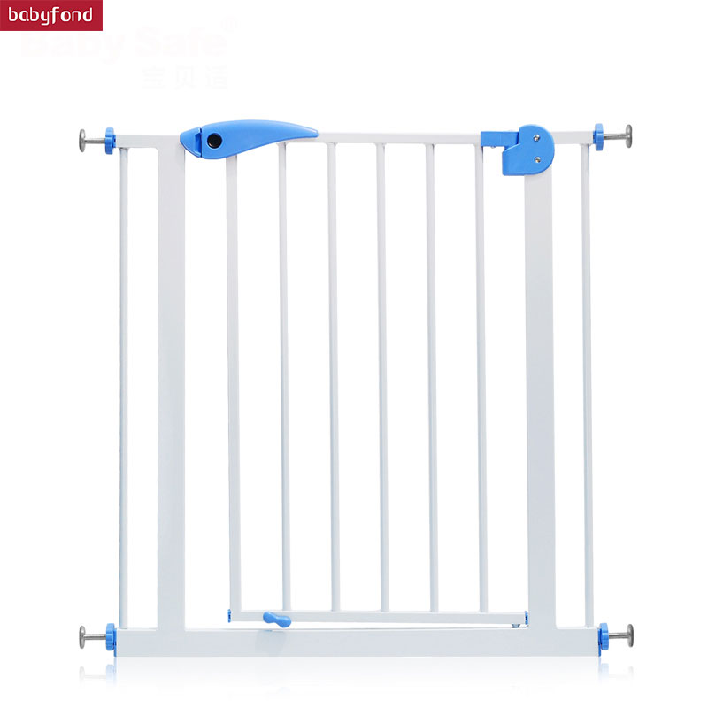 RU Free Shipping ! 75-85  Cm Baby Safe  Stair Safey Gate  Baby Guardrail Pet Dog Grid Railing Fence Isolating  Many Size