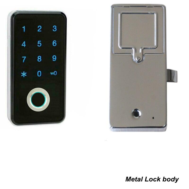 Fingerprint Password Combination Smart Lock 4