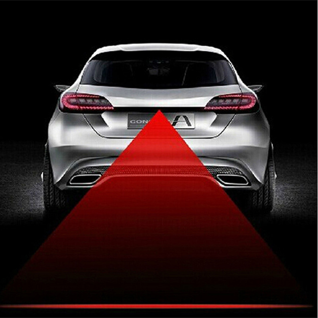 Auto Anti Fog Anti Collision Laser Waarschuwingslampje Laser Led