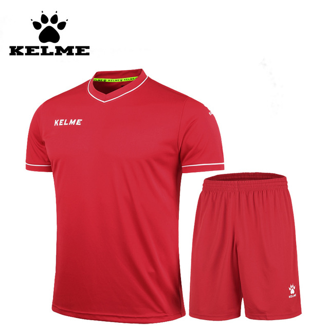 KELME 2016 Cheap Men Children Jerseys Soccer Brand Blank Summer Short Tracksuits Football Training Suits Boys Uniforms On Sale63