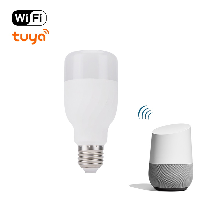 Smart RGB Bulb E27 Color Light Bulb Wifi Smart Life APP Remote Control Smart Table Lamp With Alexa And Google Assistant