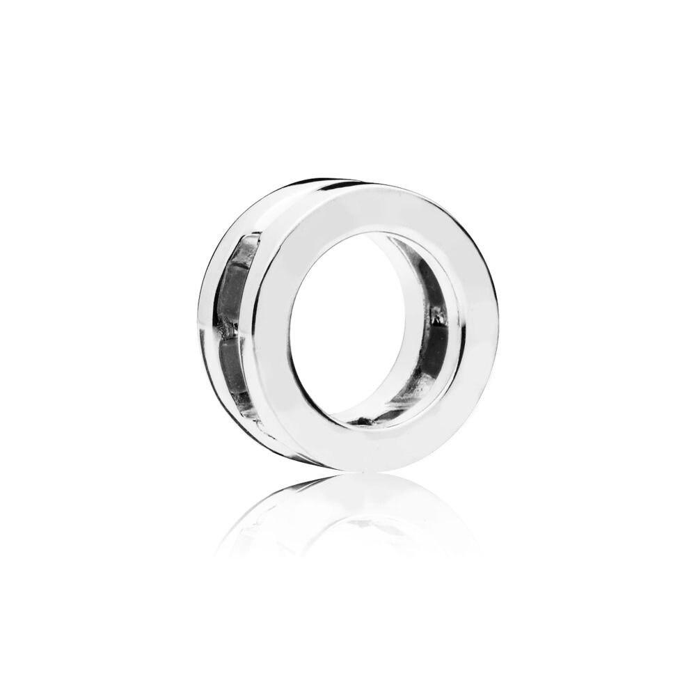 100% QualitäT Cosen 2018 Herbst Neue Original 925 Sterling Silber Reflexions Logo Clip Charme Schmuck Für Frauen Hohe Qualität Frau Geburtstag Geschenk AusgewäHltes Material